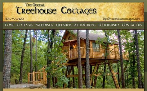 treehouse cottages eureka springs fun places to go