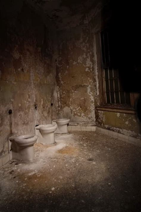 bathroom photo of the abandoned worcester state hospital