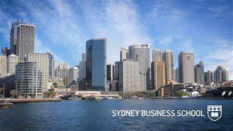Of Sydney Business School Mba by Học Bổng Mba Của đại Học Sydney 218 C Năm 2017