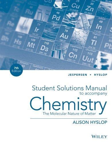 chemistry the molecular nature of matter seventh edition wileyplus card with loose leaf print companion set wiley plus products isbn 9781118704943 chemistry the molecular nature of