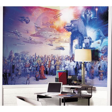 wall decal murals wars cast wall mural