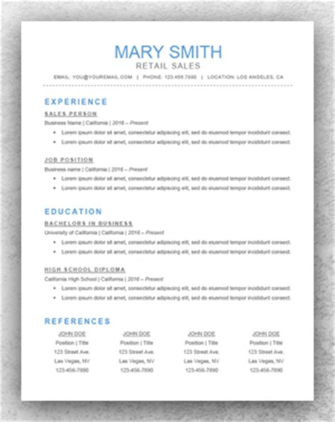 Resume Template Start Professional Resume Templates For Word Classic Resume Template