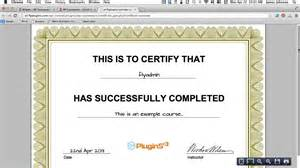 how to generate a pdf certificate of completion for your