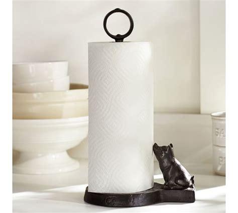 Make Paper Towel Holder - vintage blacksmith pig paper towel holder pottery barn