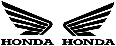 Honda Tank Sticker by Honda Wings 100mm X 80mm Tank Sticker Decal X 2 Cbr