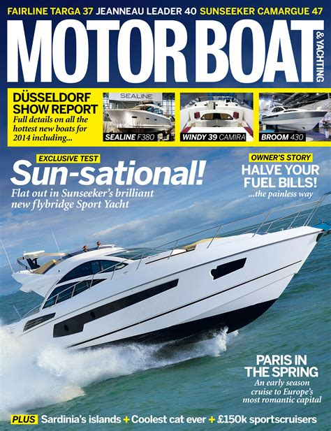 motorboat on sale april issue of motor boat yachting on sale now motor