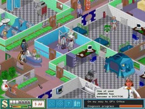 theme hospital making money theme hospital gameplay pc youtube