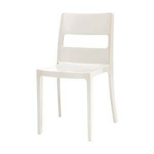 sai dining chair white novo furniture