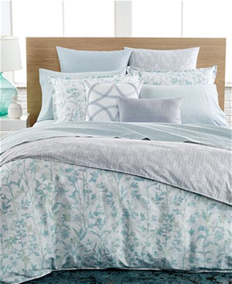 macy s clearance bedding closeout bar iii leaflet bedding collection clearance