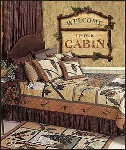 Lodge Themed Home Decor Lodge Cabin Log Cabin Themed Bedroom Decorating Ideas