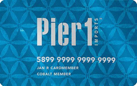 pier 1 imports 174 rewards credit card pier 1 imports