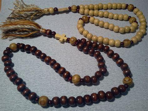orthodox rosary prayer 9 10mm orthodox russian wooden chiotki by monasterymade