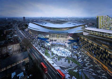 Historic Home Plans by Tottenham Football Club Stadium London Spurs Ground E