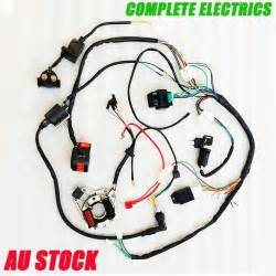 complete electric wire coil for pit dirt bike motorcycle 50cc 70cc 110cc 125cc ebay