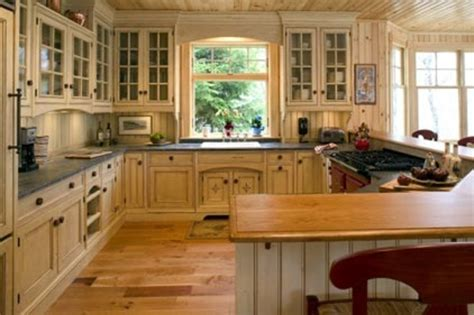 Cottage Style Kitchen Cabinets by Black Cove Cabinetry Cottage Style Kitchens Photos 2