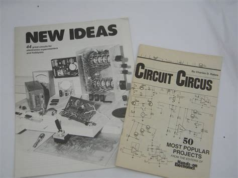 easy electronics make handbook books pair of vintage electronics project books diy tesla coil