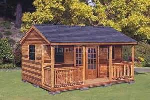Shed With Porch Plans 16 x 20 cottage shed with porch project plans design 61620