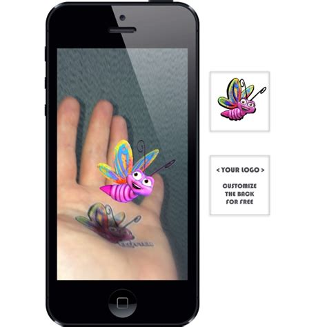 augmented reality tattoo augmented reality tattoos butterfly