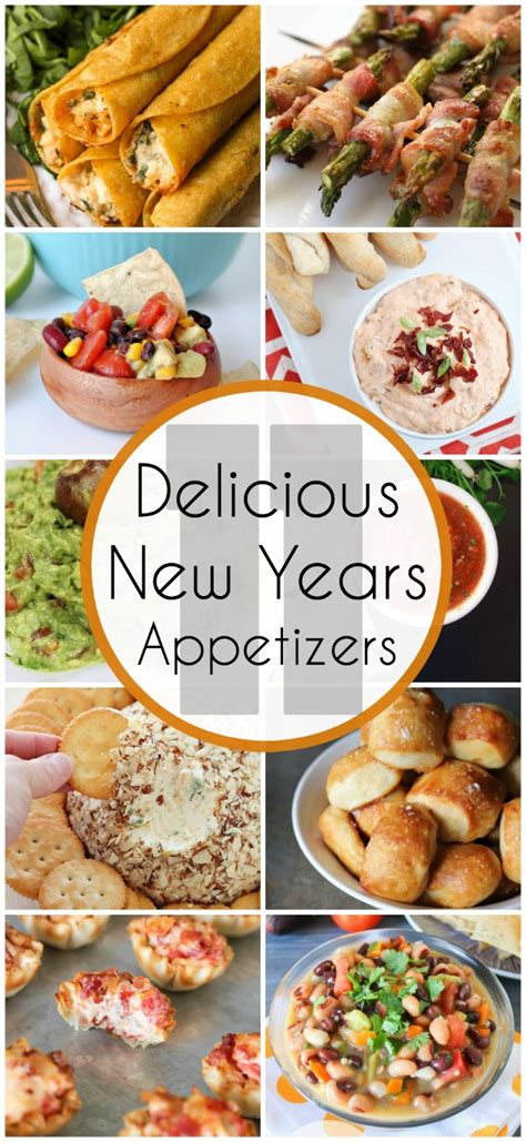 new year snacks the best appetizers for new years clutter