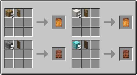 door crafting recipe   cycle   door