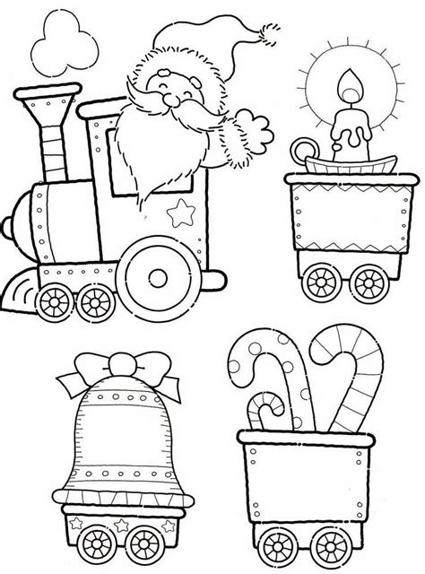 coloring pages christmas train blank train coloring pages coloring home