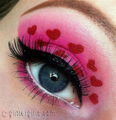 valentines day makeup valentine s day makeup d glittergirlc