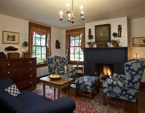 amerikanisch wohnen early american inspired living room my idea of colonial