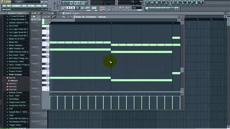 tutorial fl studio piano roll changing the size of midi in the piano roll fl studio