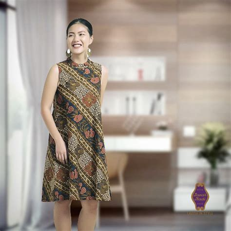 Dress Batik Wanita Dress Wanita Aulia Dress Kawung Soft batik danar hadi on quot happy are the