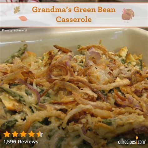 grandmas green bean casserole wow grandma rocks