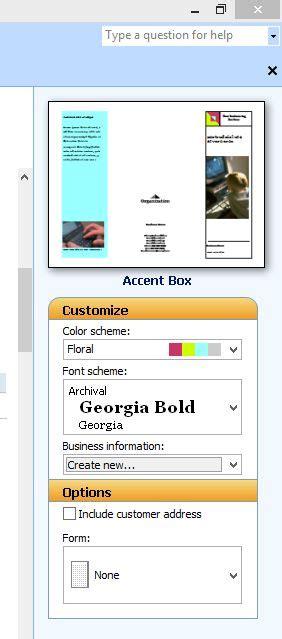 membuat brosur dengan word 2013 cara membuat brosur pada microsoft publisher adeirena