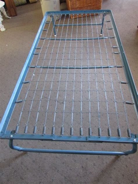 fold up bed frame lot detail fold up twin size spring bed frame