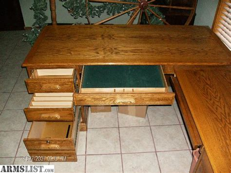 Oak L Shaped Computer Desk Armslist For Sale Sold Oak L Shape Computer Desk