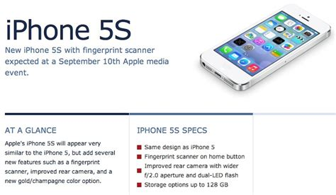 iphone 5s apple iwatch and iphone 5c design specifications rumor roundup for sept 10