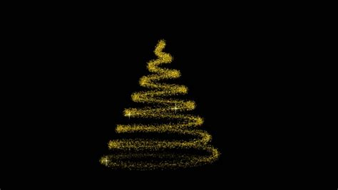 Flowing light christmas tree hd computer animated christmas tree that builds in a spiral and