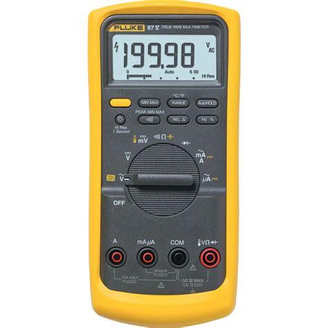 Multimeter Fluke fluke 87 5 industrial true rms multimeter with temperature