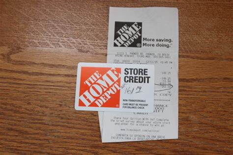 free home depot store credit 161 19 gift cards