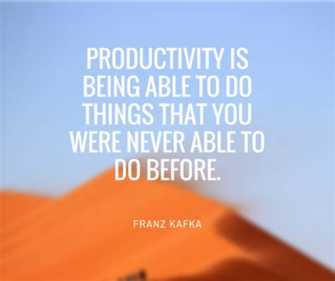 Does Being Never Being Able To Commit by Productivity Is Being Able To Do Things That You W