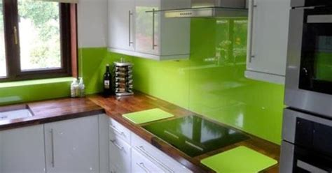 Lime Green Kitchen Ideas White Cabinets Lime Green Walls Med Tone Wood Home Style Lime Green