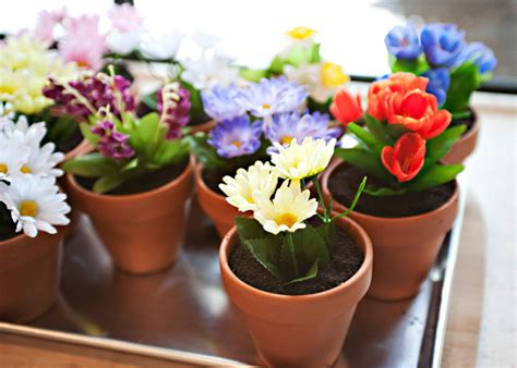 Planters Recipes by Dirt Cake In Flowerpots Baked