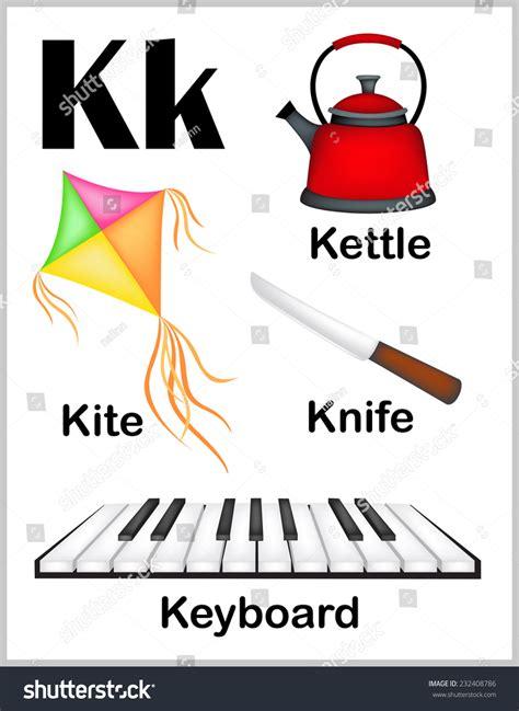 5 Letter Words Z And K colorful alphabet letter k set stock vector 232408786