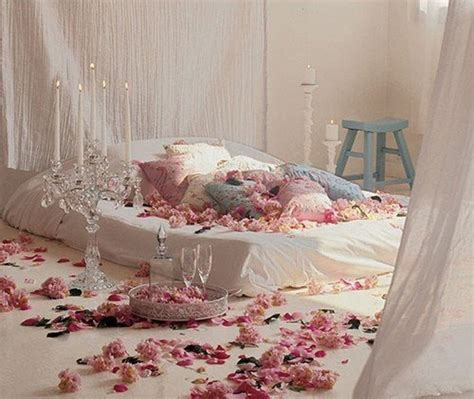 Romantic Bed | beautiful romantic master bedroom interior design