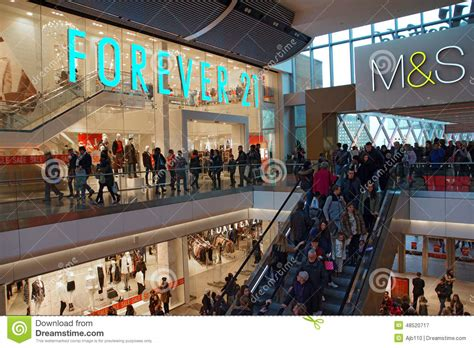 What Shops Accept Westfield Gift Cards - forever 21 and m s editorial photography image 48520717