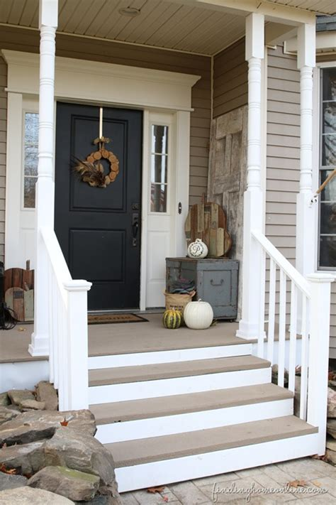 screened porch makeover concrete floor front porch makeover on a budget finding home farms