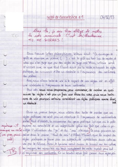 Exemple De Dissertation by Discussion Section Of Dissertation Exemple De