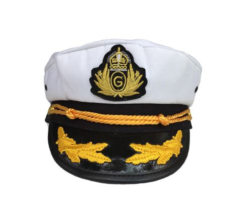 yacht boat captain hat yacht captain hat yachting cap navy sailor skipper boat
