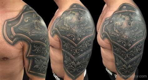 viking armor tattoo viking shoulder armor www pixshark images