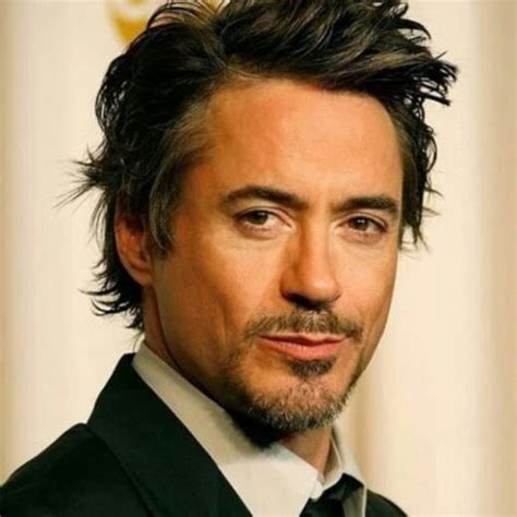 easy way to get the tony stark hairstyle classical tony stark beard with short greaser hairstyle