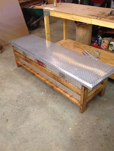 build  wood truck tool box woodworking projects