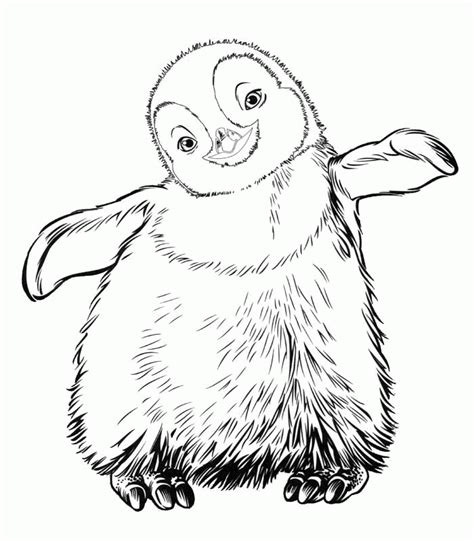 Happy Feet Coloring Pages Coloringpagesabc Com Happy Coloring Page